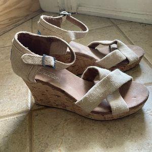 Toms Wedge Sandal